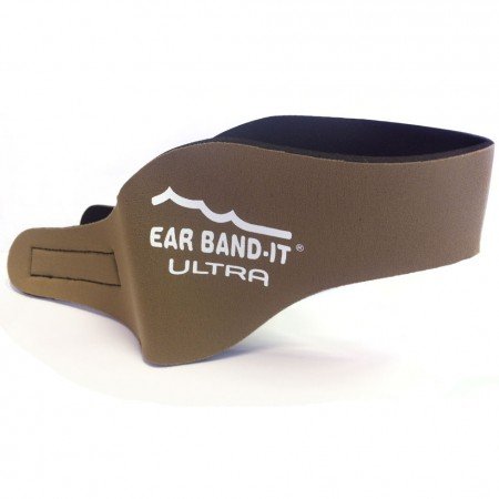 Ear Band-it Hnedá Ultra čelenka a 1pár štuplov