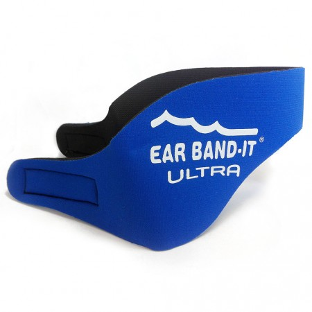 Ear Band-it Modrá Ultra čelenka a 1pár štuplov