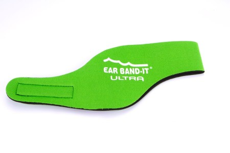 Ear Band-it Zelená Ultra čelenka a 1pár štuplov