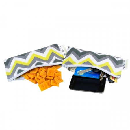 Snack Bag Mini (2ks) Sunshine Chevron